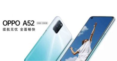 OPPO A52 with Punch Hole Display
